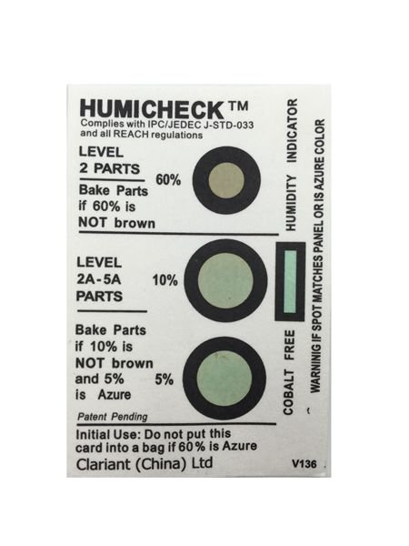 MSDS Report Humidity Indicator