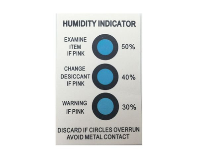 MSDS China Humidity Indicator Sticker