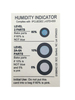 Moisture Absorber Humidity Indicator Card