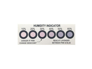 PCB Six Points Cobalt Humidity Indicator Card Strip